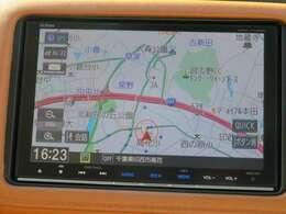 ギャザズナビVXM-175VFEIでございます。フルセグTV、Bluetooth対応になります。