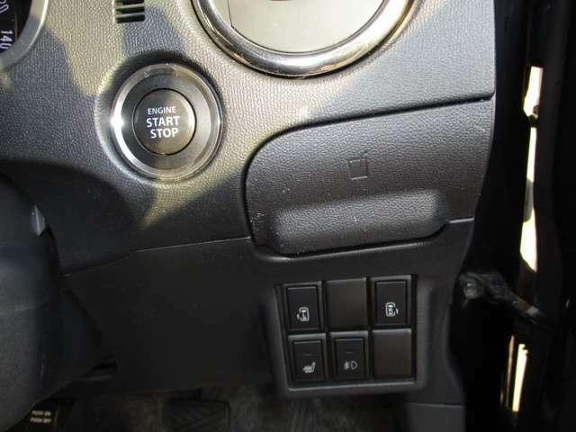 プッシュスタート 格納式ドリンクホルダー パワースライドドア開閉スイッチ シートヒーター