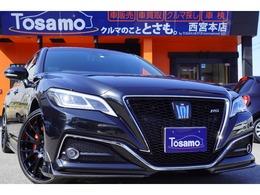 トヨタ クラウン ハイブリッド 3.5 RS アドバンス 1オーナー/TRD・モデリスタエアロ/黒革/SR