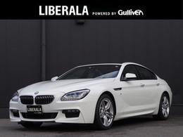 BMW 6シリーズグランクーペ 640i Mスポーツ インテリセーフ 黒革 パノラマSR LEDライト