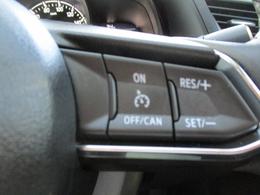 ■クルーズコントロール付き高速道路運転時、ドライバーの負担を軽減してくれます。
