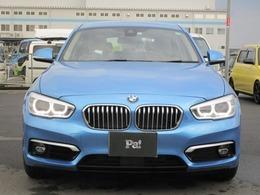 BMW 1シリーズ 118i ファッショニスタ ディーラー使用車 ナビ+バックカメラ+ETC