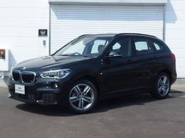BMW X1 xドライブ 18d Mスポーツ 4WD ブラックサファイア  コンフォートPKG