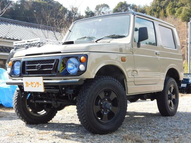 5速ミッション・4WD・リフトアップ・エンジン/オルタネーターOH・ターボリビルト・1年保証付き!全ての諸経費込みの価格です♪お気軽にお問合せ下さい★