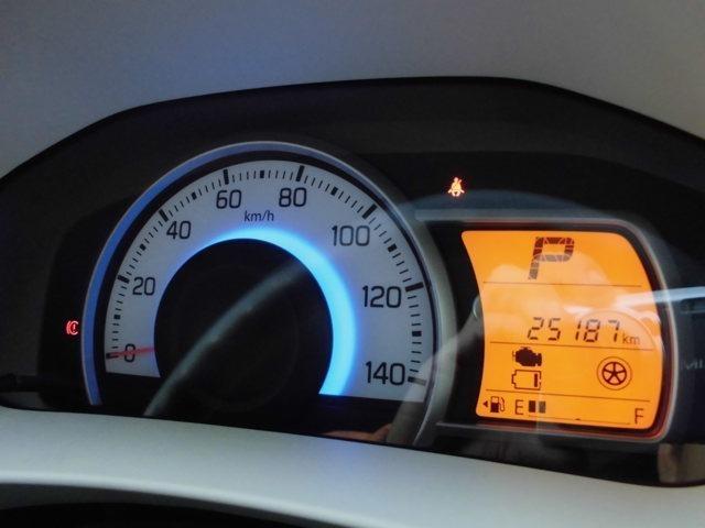 車両のメーター周りの画像です。現在の総走行距離は約2万6千キロです。