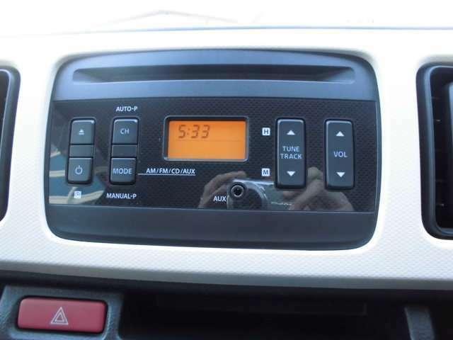 純正CDオーディオ付きです。ドライブのお供にお好きな音楽を☆