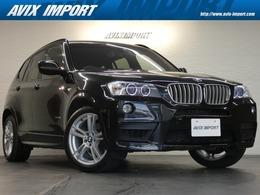 BMW X3 xドライブ35i Mスポーツパッケージ 4WD 黒革 Sヒーター 純正ナビトップビュー 19AW