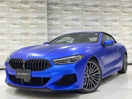 BMW 8シリーズカブリオレ M850i xドライブ 4WD 白革 B&Wサウンド レ-ザ-ライト MサスPro
