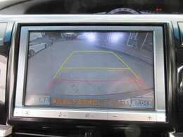 純正8型HDDナビ付き♪ ガイド線付バックカメラで駐車も安心ですね♪ モニターも大きく、駐車も安心ですね♪