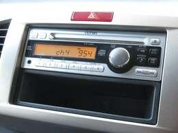 フリードスパイクハイブリッドに付いているギャザズ1DIN CDチューナー(CX-128C)はCDプレーヤー・AM/FMチューナー付です。お好みの音楽を聞きながらのドライブは楽しさ倍増ですね!