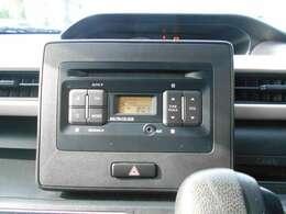 純正CDオーディオ付きです。AM/FMラジオ機能付き。