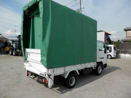 H18 ニッサン アトラス 平ボディ 幌 垂直ゲート 積載1500kg 走行43000km ボディ内寸長さ2870 幅1610 高さ390