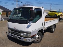 三菱ふそう キャンター 平ボディ・1.5t 1.5t・ダブルタイヤ・5MT・2800cc