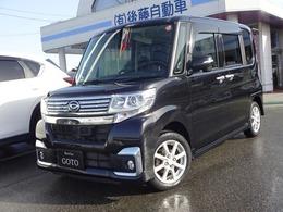 ダイハツ タント 660 カスタム X SAII 4WD ナビ BluetoothフルセグTV 電動スライド