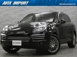 ポルシェ カイエン プラチナエディション ティプトロニックS 4WD スポーツクロノPKG 黒革 TV Bカメ PAS E/D