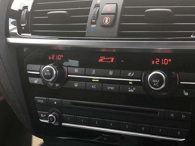 デュアルオートエアコンで温度調整自由自在★シートヒーターも装備しているので今の時期暖かいです!!