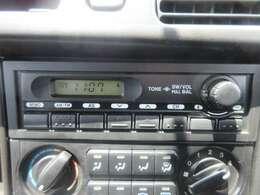 AM/FMラジオ聴けます!
