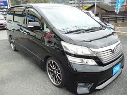トヨタ ヴェルファイア 3.5 Z プラチナセレクション 電動リアゲート ナビ 後席モニター ETC