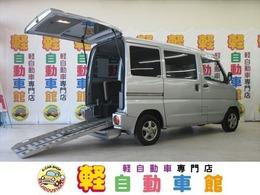 三菱 ミニキャブバン 660 CD 4WD 福祉車両  スローパー 車いす移動車
