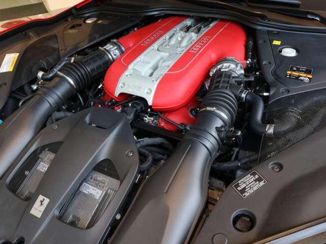 6.5リッターV12エンジンをおたのしみください。
