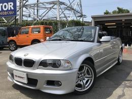 BMW 3シリーズカブリオレ 330Ci Mスポーツパッケージ 検新規2年付/ 電動OP/黒革/Pシート/ETC