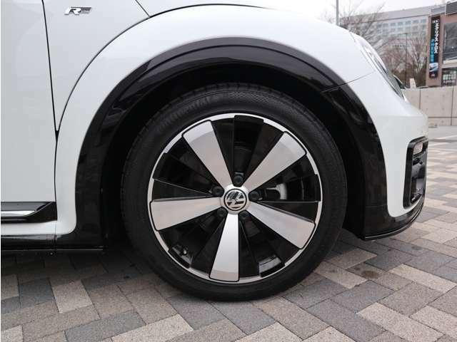 洗練されたデザインのタイヤ・ホイールこちらもフォルクスワーゲンの売りです。