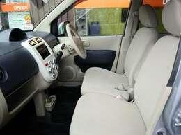 フロントシートです。お乗りになられた時のお姿を想像してください。