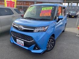 トヨタ タンク 1.0 カスタム G 4WD メモリ-ナビ/バックカメラ/LEDヘッドライト