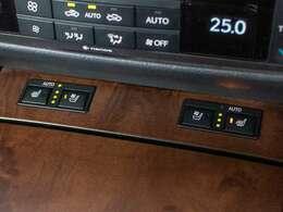 オールシーズン快適にドライブが出来るエア(冷暖房)シートです。