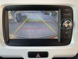 純正バックカメラ付き!駐車する際に障害物や小さなお子様など死角を防ぐにも重要な装備です♪
