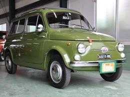 フィアット 500(チンクエチェント) ビアンキ―ナジャルディニエラ