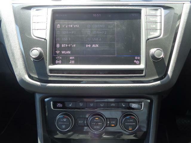 純正ナビゲーション(ディスカバープロ)は様々なオーディオソースに対応いたします!CD・DVD・SD・USB・AUX・Bluetooth