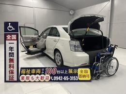 トヨタ SAI 福祉車両・電動助手席リフトアップシート 5人乗走行57千K・禁煙車ワンオーナー純正AW