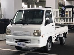 スバル サンバートラック 660 TB 三方開 4WD 5速MT  ETC エアコン
