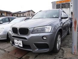 BMW X3 xドライブ20d Mスポーツパッケージ ディーゼルターボ 4WD 純正HDDナビ ワンセグ Bカメラ