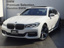 BMW 7シリーズ 740d xドライブ Mスポーツ ディーゼルターボ 4WD リアコンフォート・レーザーライト20AW