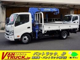 日野自動車 デュトロ ワイドロング 3段クレーン 2.93t吊 フックイン ラジコン タダノ製