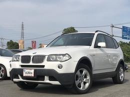 BMW X3 2.5si 4WD サンルーフ 純正ナビ 障害物センサー ETC