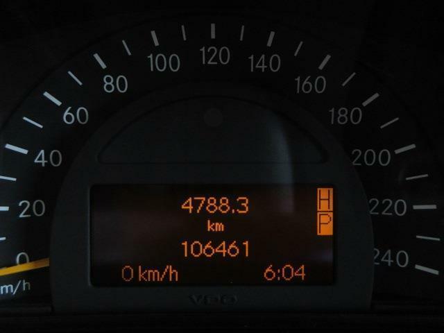 走行距離は106000K!