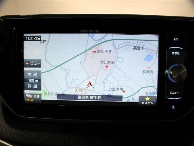 ナビ付きで遠くのドライブでも安心して目的地まで案内してくれます。