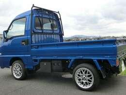 ハイルーフキャビン載せ替え・最終型フェイス・WRブルー・4WD