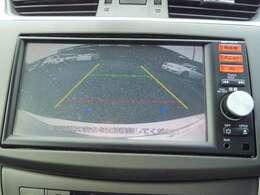 駐車時のサポートに大活躍バックモニター付き