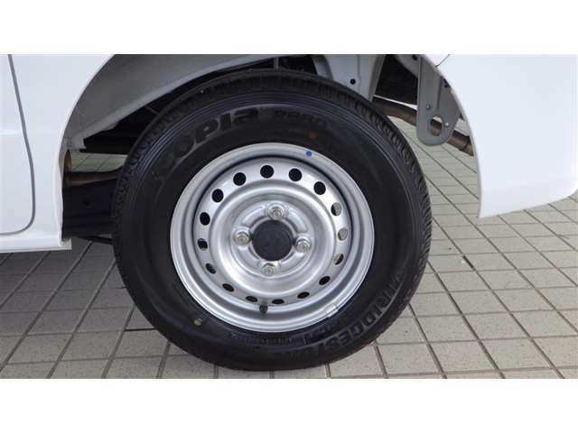 純正スチールホイール タイヤサイズ145/80R12
