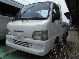 スバル サンバートラック 660 TB 三方開 4WD エアコン+パワステ+4WD