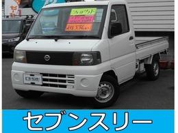 日産 クリッパートラック 660 SDエアコン付 パワステ走行34000Km