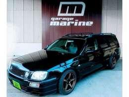 GTスポーツ専門ガレージマリンです!自社ブースにてアルファードブラック全塗装