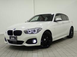 BMW 1シリーズ 118i Mスポーツ エディション シャドー 追従型クルーズコントロール 黒ホイール