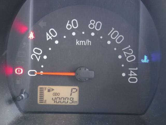走行距離は 40009kmです