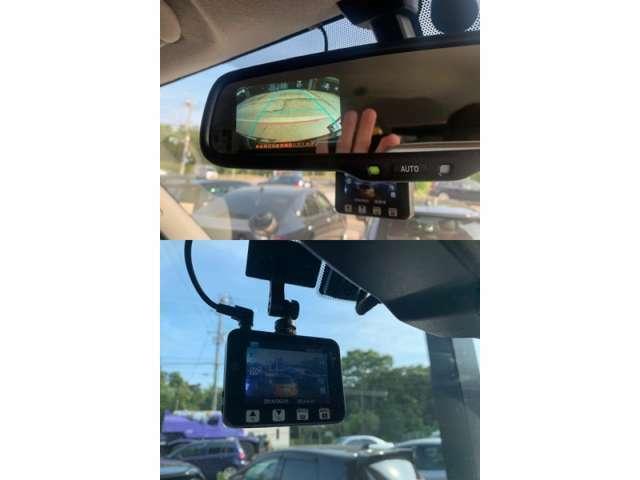 バックカメラ、ドライブレコーダー付いております!大きなお車が初めての方でも安心ですね!!