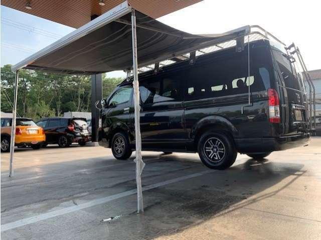 お車1台でキャンプ、車中泊可能です!アウトドアがお好きな方におススメのお車です!!